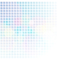 Blue Hexagon Abstract Background vector image vector image