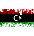 Flag of Libya vector image vector image