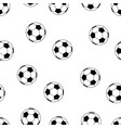 football pattern seamless isolated vector image