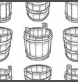 graphic barrels of beer vector image