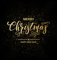 Merry christmas handwriting script lettering