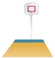 Basketball area vector image vector image