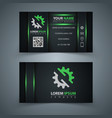 business template idea for your print vector image vector image