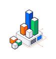 data center icon vector image