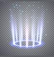 glittering magic fantasy portal vector image