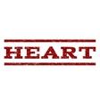 Heart Watermark Stamp vector image vector image