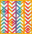 retro geometric pattern vector image vector image