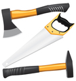 Carpentry tools vector image