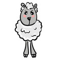 angry sheep or color vector image vector image