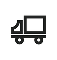Delivery Truck Symbol vector image vector image