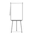 Flipchart blank template vector image