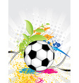 Football abstract background vector image vector image