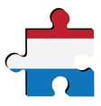 Isolated flag of Netherlands vector image