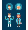 Medicine Concept Doctor Surgeon Emergency vector image vector image