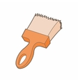 Paint brush icon in cartoon style vector image vector image