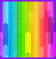 rainbow mosaic seamless texture vector image vector image