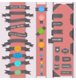 Set design elements vector