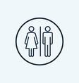 wc sign restroom icon toilet bathroom male