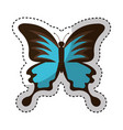 cute butterfly isolated icon vector image vector image
