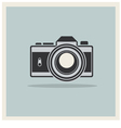 DSLR Professional Camera Icon vector image vector image
