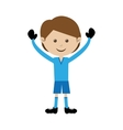 football soccer icon image vector image vector image