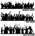 Group peoples vector | Price: 1 Credit (USD $1)