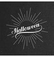Halloween Holiday vector image vector image