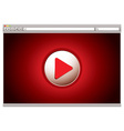 Internet video web vector | Price: 1 Credit (USD $1)
