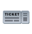 passenger ticket for travel vector image