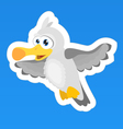 Seagull Sticker vector image vector image
