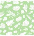 vegetables background 09 vector image vector image