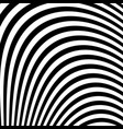 abstract black and white abstract lines vector image