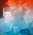 Abstract geometric polygonal mesh wire background vector image vector image