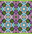 baroque colorful seamless pattern vector image