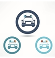 car assistance icon vector image vector image