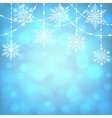 Christmas shiny card vector image vector image