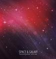 cosmos background vector image vector image