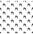 glasses champagne pattern seamless vector image vector image