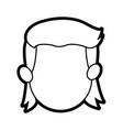 head face boy son kid image vector image vector image