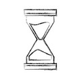 hourglass antique timer vector image vector image