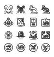 Rat icon set