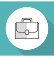 suitcase icon design vector image