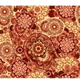 Traditional paisley pattern silk headscarf sample vector image vector image