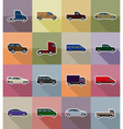 transport flat icons 18 vector image vector image