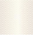 trendy simple seamless zig zag golden geometric vector image vector image