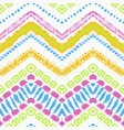 tribal ethnic seamless pattern vector image vector image