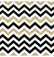 Chevron seamless pattern Glittering golden surface vector image