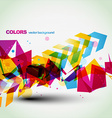 beautiful colorful abstract vector image vector image