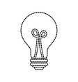 bulb light idea creativity inspiration concept vector image