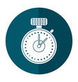 chronometer time sport icon vector image